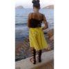 Τούλινη φούστα Κίτρινη