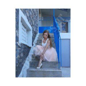 Τούλινη φούστα Ροζ παλ