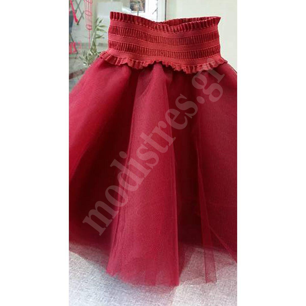 fd247af5897 Παιδική Τούλινη φούστα Κόκκινη – MODISTRES.COM