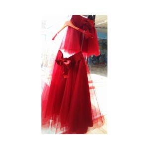 Τούλινη φούστα Κόκκινη Μαμά και Κόρη