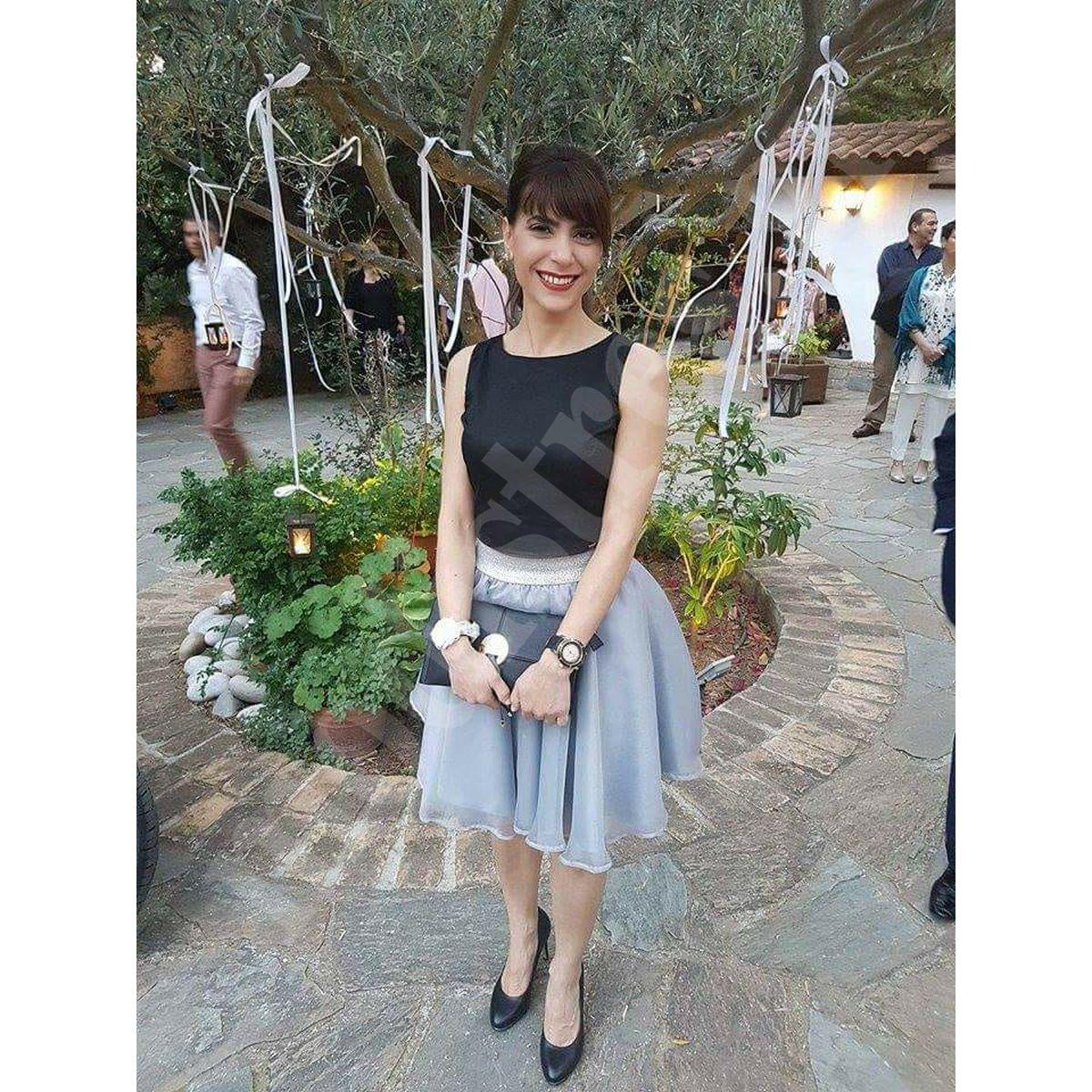 59691fec62cb Τούλινη φούστα με οργάντζα – MODISTRES.COM