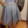 Τούλινη φούστα με οργάντζα