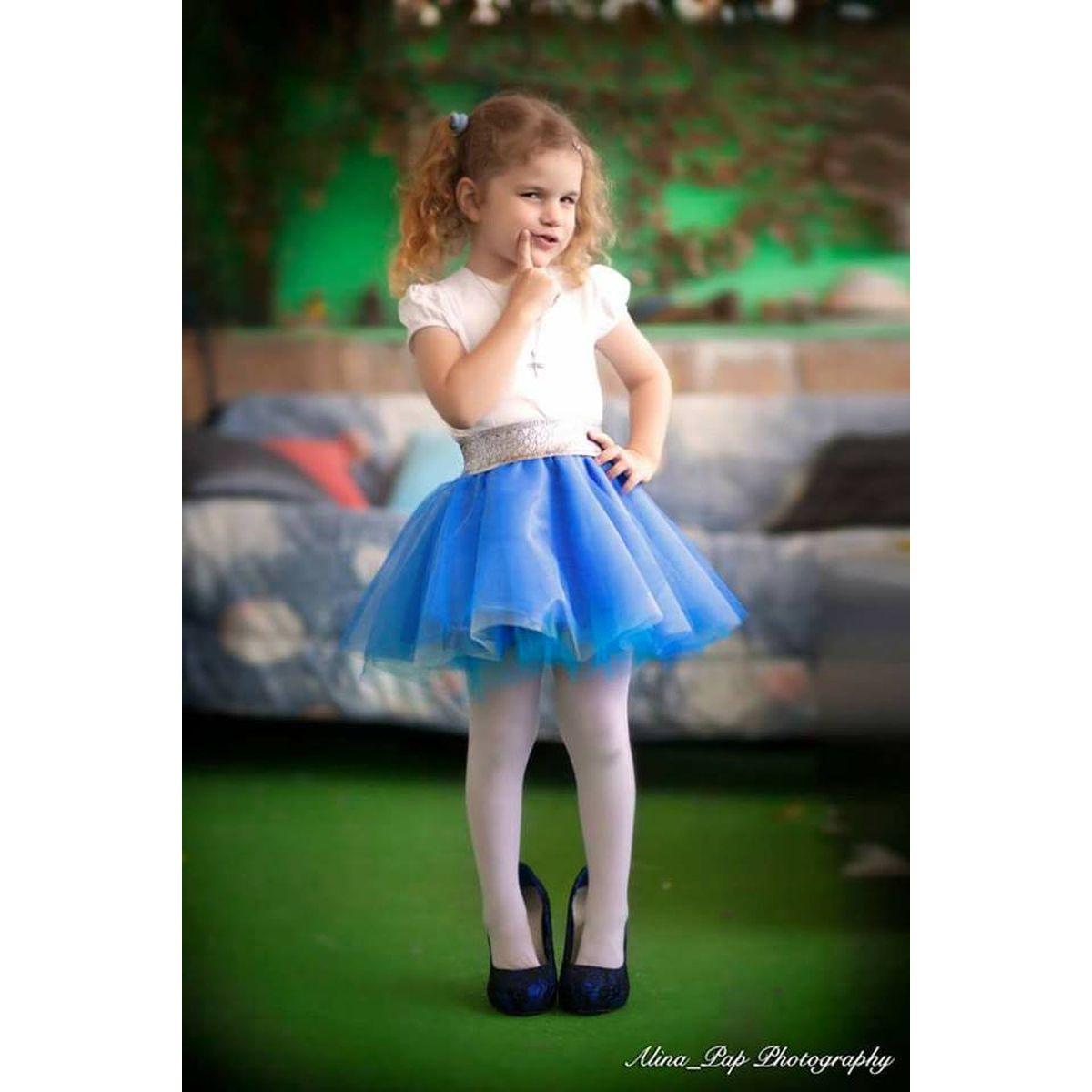 3da079974395 Παιδική Τούλινη φούστα Μπλε Σιελ – MODISTRES.COM